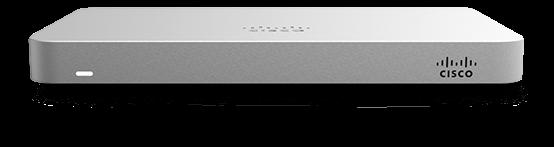 Cisco Meraki MX64-HW Cloud Managed 200 Mbps Security Appliance